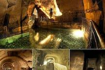 Napoli sotterranea situata a 15 minuti a piedi da casa vacanza San felice