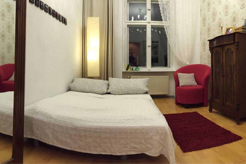schnell ankommen, schlafen wie Fritz in Berlin