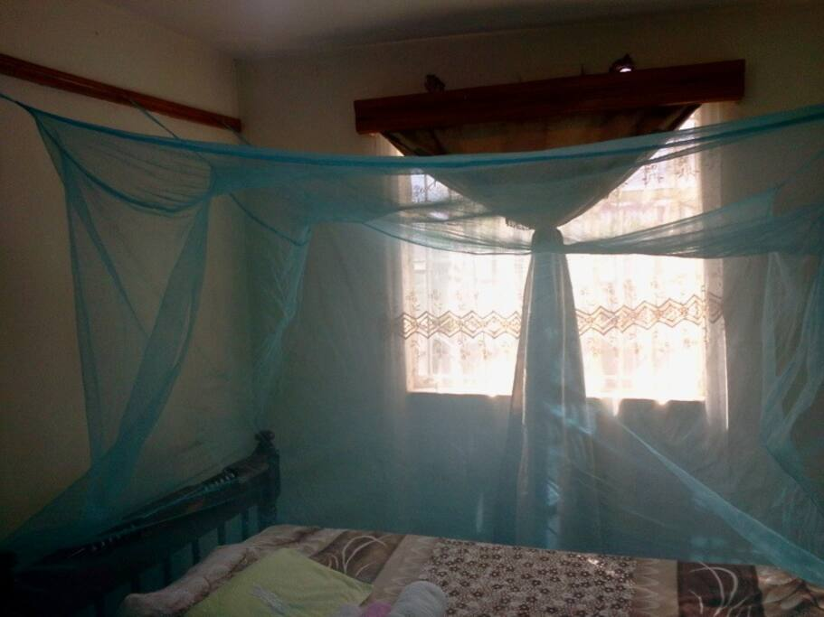 GUEST BED WITH MOSQUITO NET JUST IN CASE