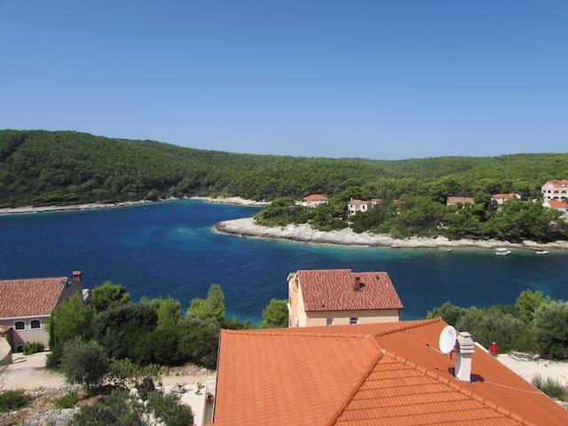 Luxury big apartment sea view for 7 - Vela Luka - Wohnung