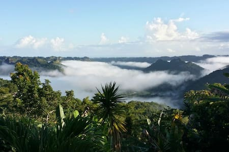LakeView Mountain Home w/Wi-Fi - Utuado