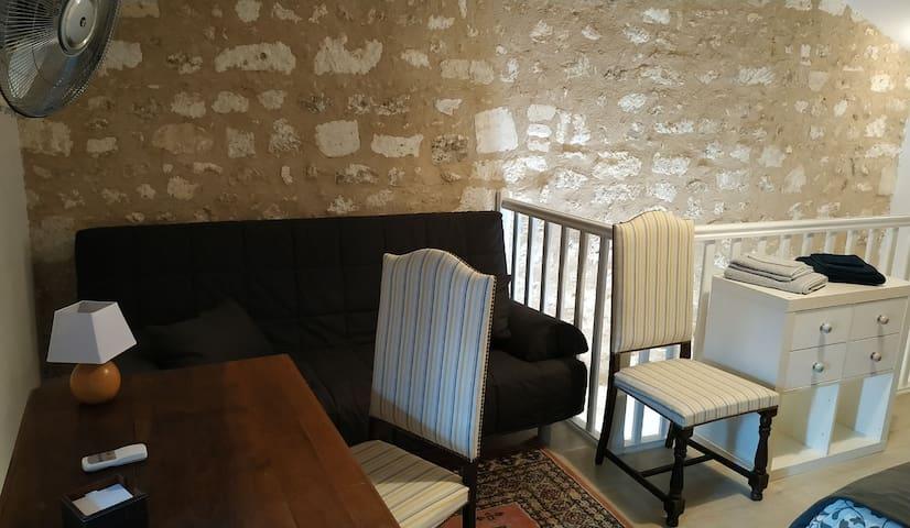 Appartement de charme dans le Brantôme historique