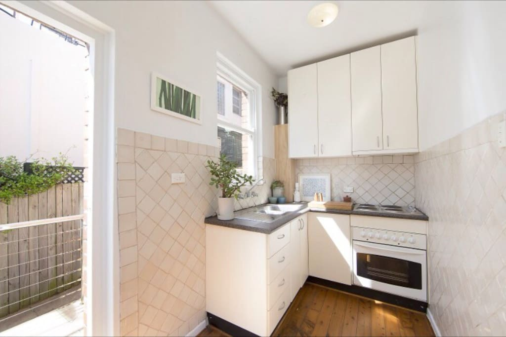 Kitchen - small but adequate!
