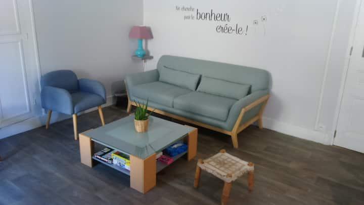 Chambre proche de la gare de Moûtiers