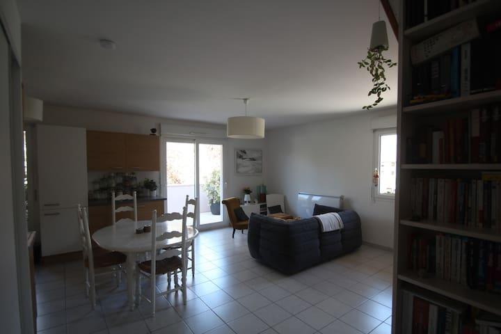 Appartement proche d'Annecy au pied des montagnes - Villaz - Flat