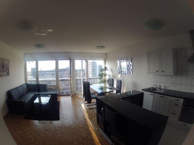 Beautiful 1 bedroom in Geneva - Chêne-Bougeries - Apartament
