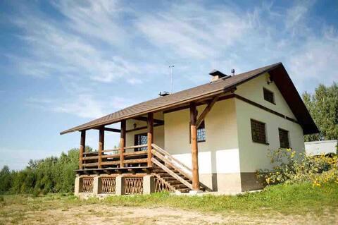 Eco House avec boule de peinture au bore de pin