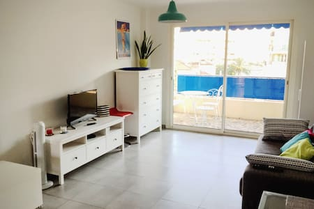 Grand Studio 300m des plages - 2 Couchages - Antibes