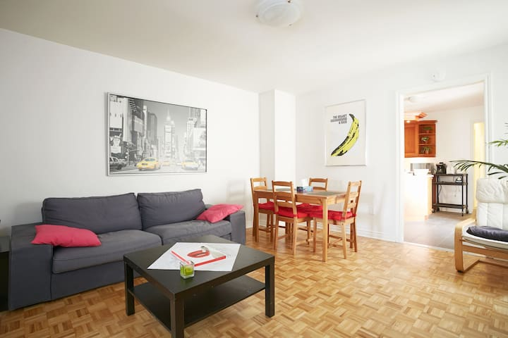 Large 4Bed 2Bath  in Le Plateau/Mile-End