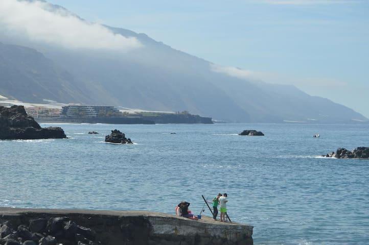 Apartamento al lado del mar en la isla de La Palma - La Bombilla - Apartamento