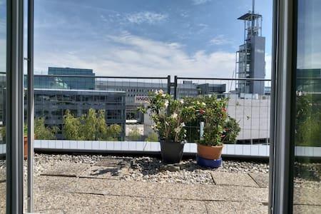 Zentrale Maisonette-Wohnung mit Dachterrasse