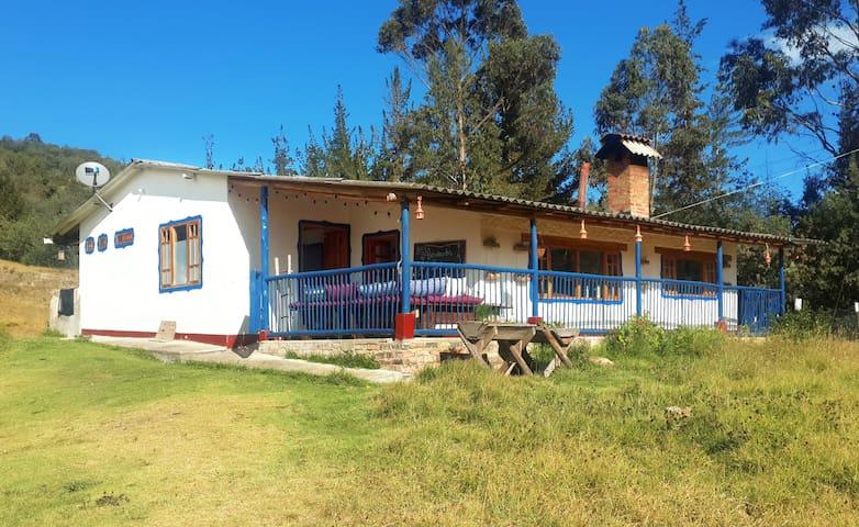 Casa Bonita - Finca para descansar - Nemocón - Nature lodge
