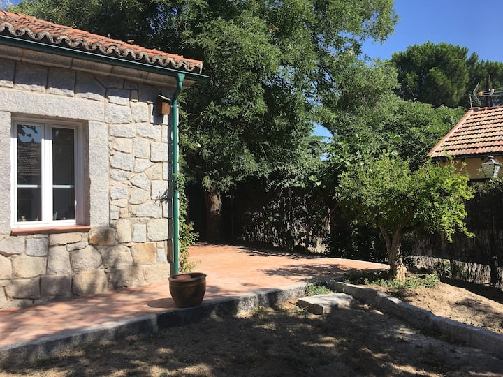 Casa ecológica cerca de Madrid