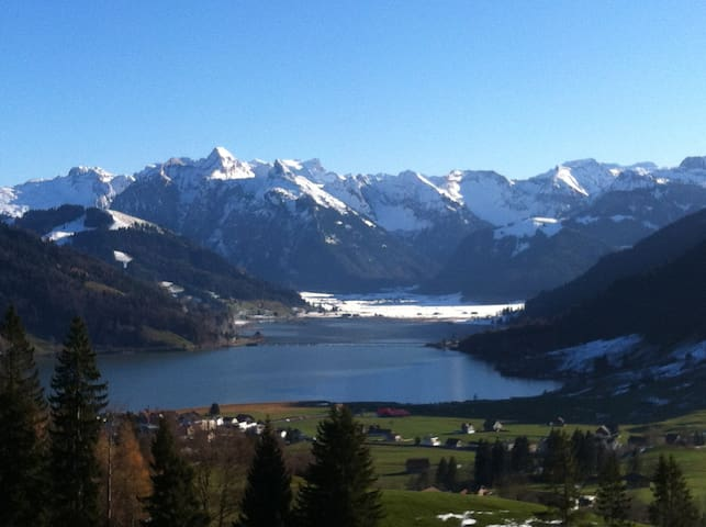 Ski and mountains, winter and summer excape. - Einsiedeln
