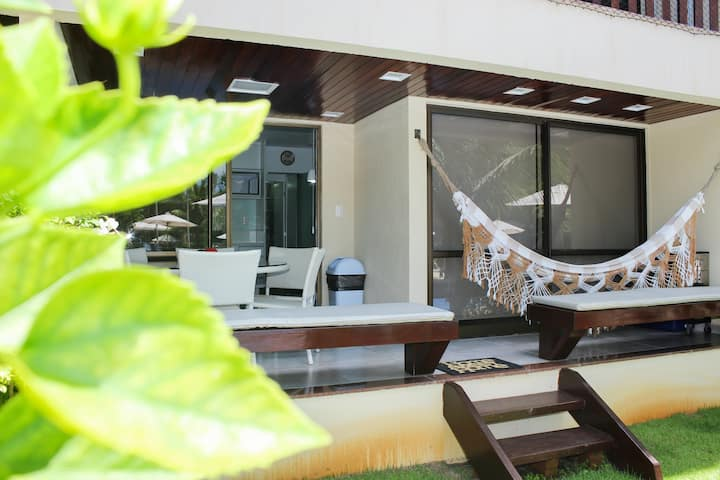 Flat Luxo Térreo - Nannai  Residence , Muro Alto