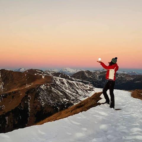 Wohlfühlen Wellness Berge See - Erholung PUR