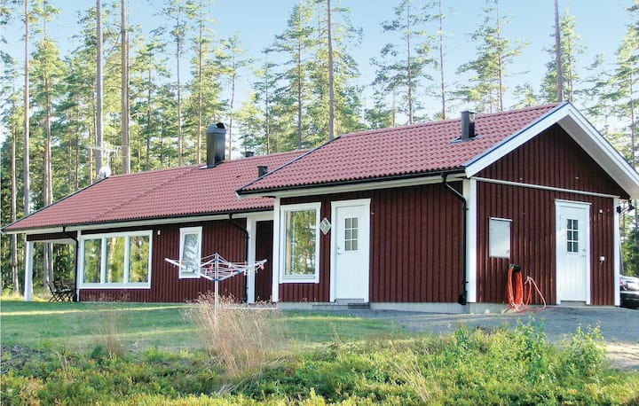 Amazing home in Vaggeryd with Sauna and 3 Bedrooms