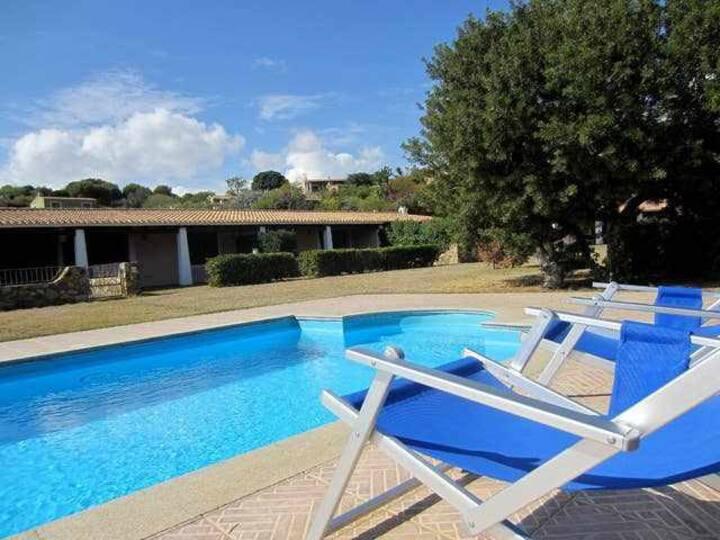 villetta con piscina in bel Residence sul mare - Residence Abba Urci 49