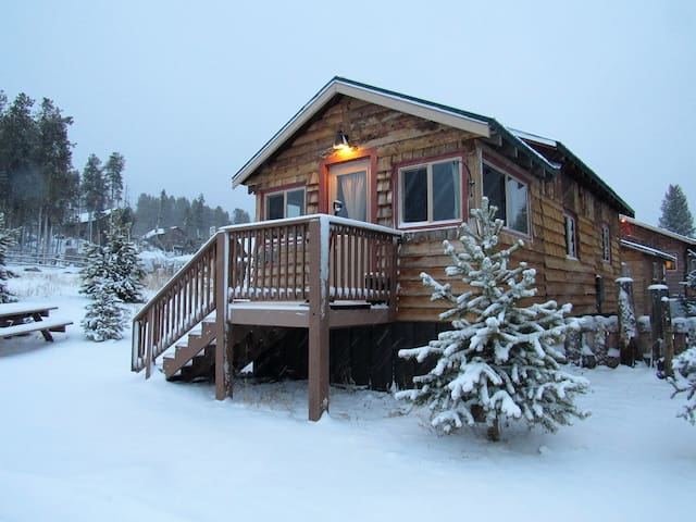 The Lake Cabin #3: Lupine Village at Grand Lake - Grand Lake - Hytte