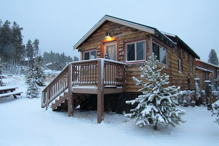 The Lake Cabin #3: Lupine Village at Grand Lake - Grand Lake - Chatka