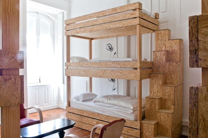 Bed in 9-bed Dorm