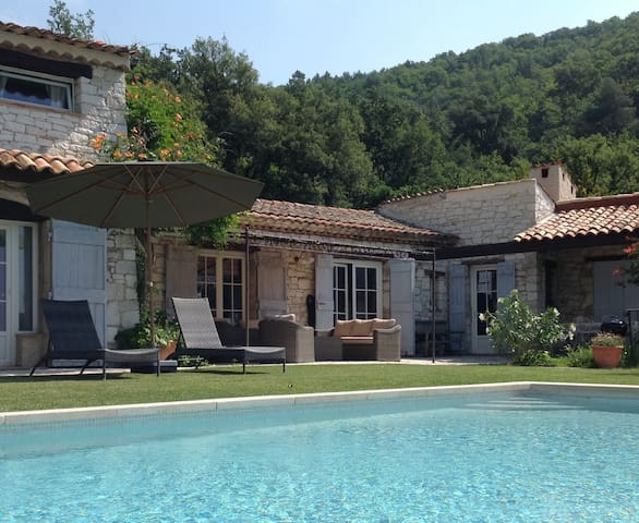 Le mas des oliviers Charme et calme  à 30´de Nice
