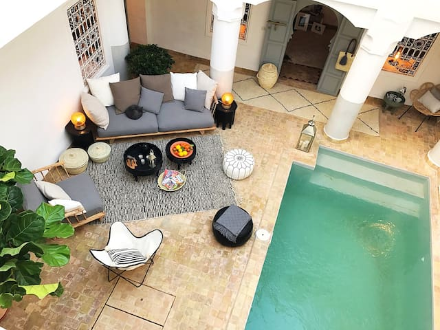 A dream Riad, with swimming pool - Marrakech - House