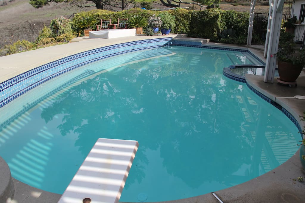 Newly restored pool