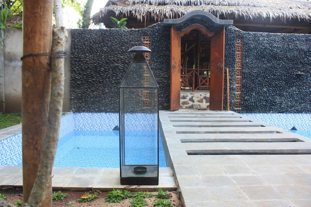 Main Entrance & Swimming Pool