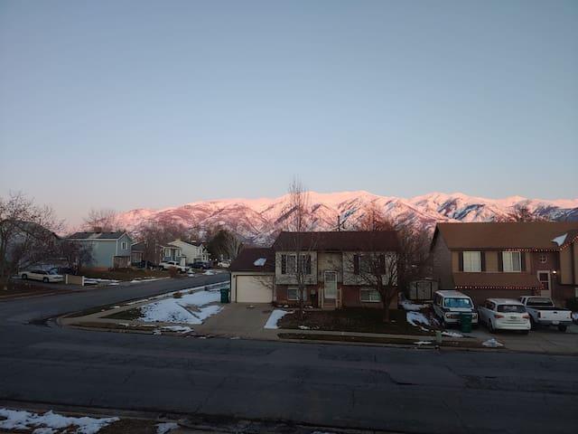 Fabi's house! Near to the best Utah Ski Resorts!