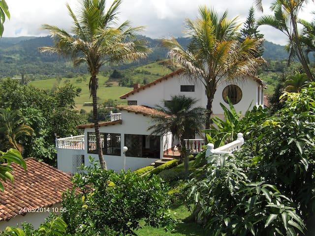 Colombia, Silvania - Casa Campestre - Ferienhaus - Silvania - Dom