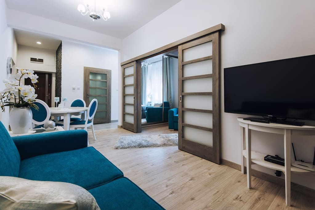 Bosacka 8 1 chambre 40m2 max 4 personnes appartements for Chambre 40m2