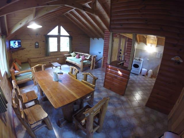 Villa la Angostura,ideal para dos parejas, max 6p - Los Lagos - Nature lodge