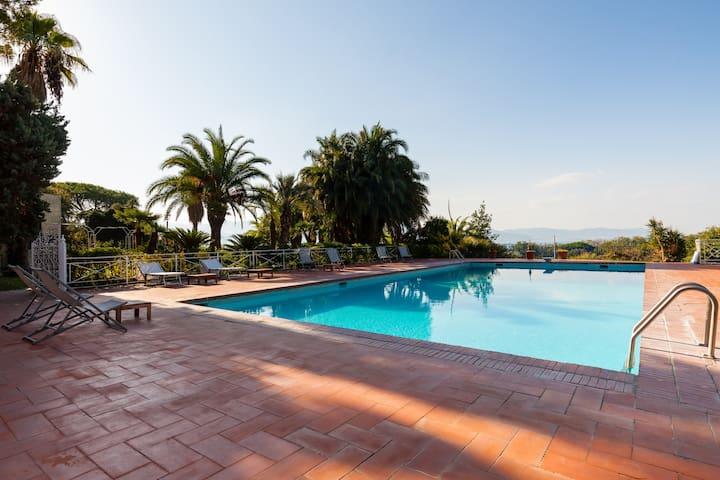 Villa Viuli - Stanza Capri