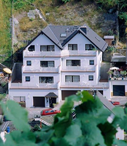 Ferienwohnung mit Rheinblick - Rüdesheim am Rhein - Apartment