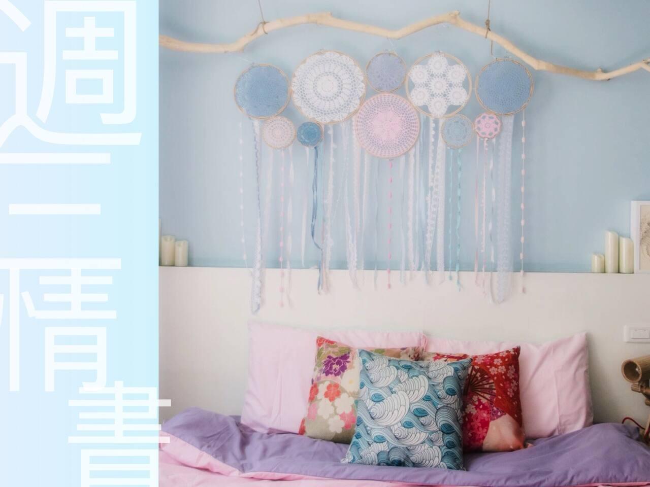 ❤️床头铺梦网 自己亲手组装❤ 1.8*2大双人榻榻米床垫!超舒服的床垫完全不怕难安眠