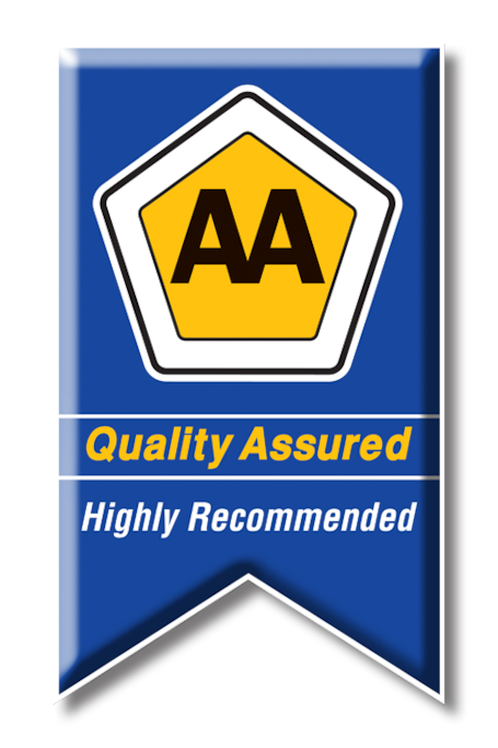 We are proud to announce that we are highly recommended by the AA.