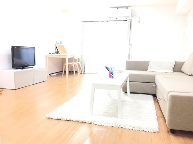 Located in the heart of Shinsaibashi!  max 4 ppl!! - Osaka-shi - Leilighet