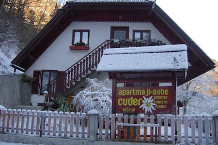 COSY APARTMENT CUDER 1 - Bovec - Wohnung
