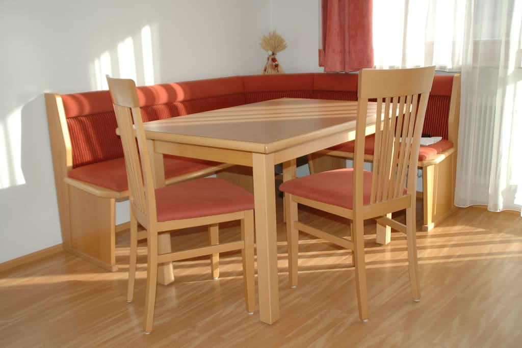 Apartment: Dining table