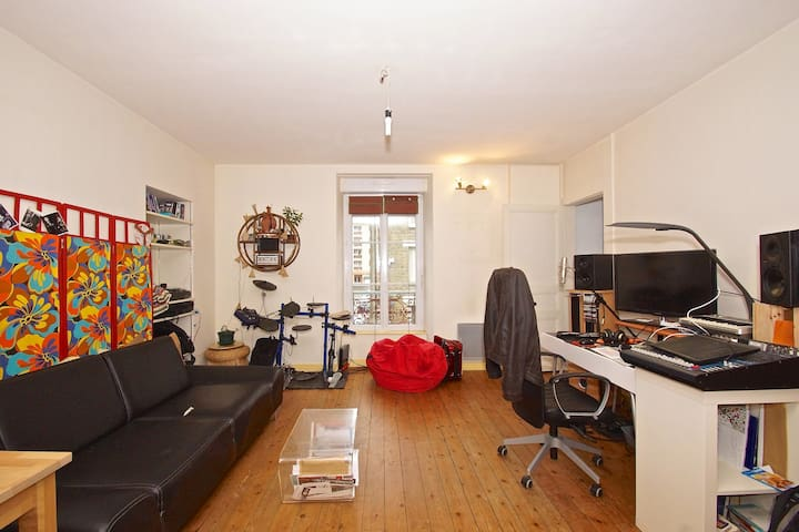Apartment close to downtown - Rennes - Leilighet