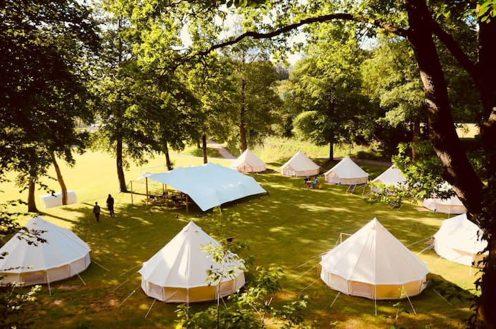 "Glamping experience ""Jazz under the Apple Tree"""
