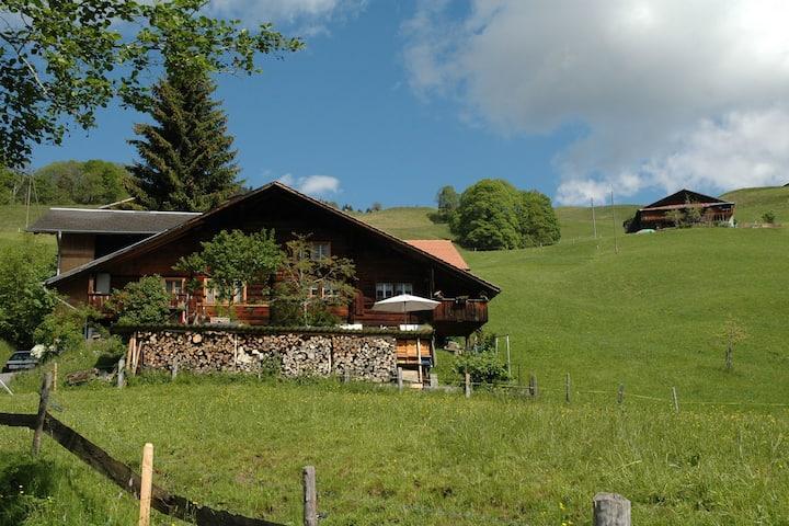 Casa rural tranquila en Habkern con aparcamiento
