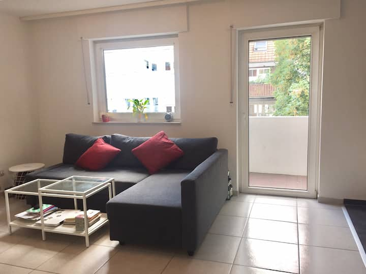 Nice flat with terrace in the city centre