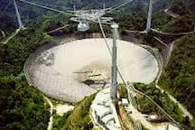 Arecibo observatory.  On the lookout to the universe and perhaps the occasional NEO's  ?  (Near Earth Objects).