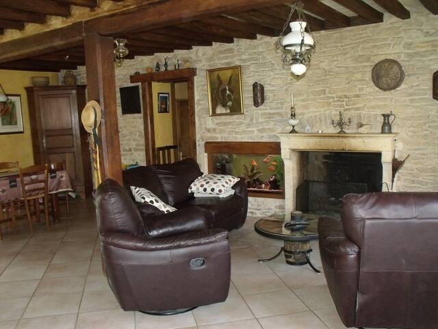 Grande chambre en Bourgogne - Bois d'Arcy - Haus