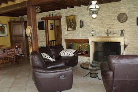 Grande chambre en Bourgogne - Bois d'Arcy