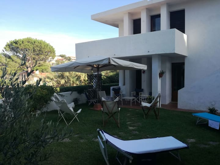 ground floor in big Villa -  close to two beaches