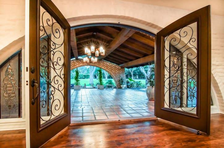 Race Season Rental - Grand Estate - Rancho Santa Fe - Casa
