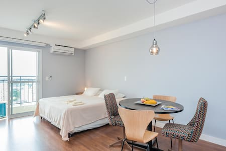 Modern Luxurious Studio Flat in Curitiba Downtown! - Curitiba